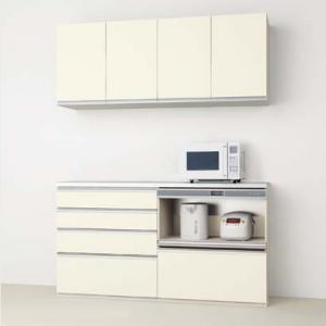 DIYキッチン収納 家電置き収納プラン
