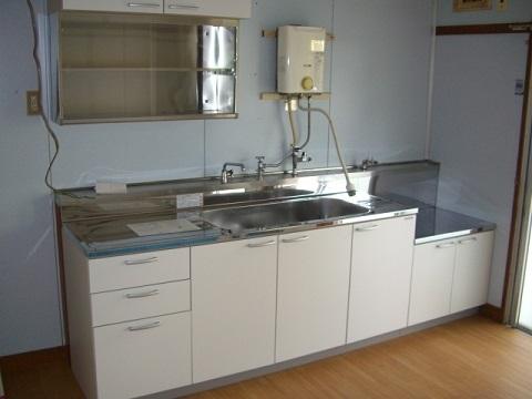 キッチン DIY 採寸