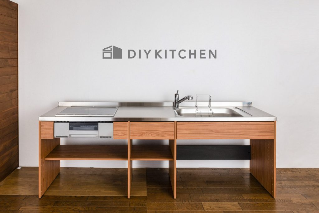 DIYキッチンのイメージ