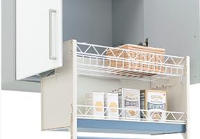 昇降式収納 DIYでの取付けのイメージ