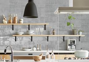 キッチン壁 DIYでのメンテナンスのイメージ