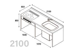 I型210cmプランキットのイメージ