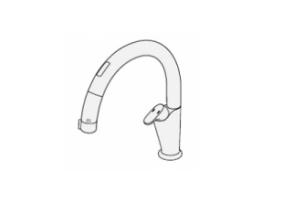 水栓・浄水器一体型水栓のイメージ